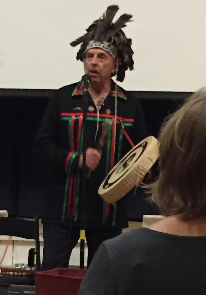 Abenaki storyteller Joseph Bruchac