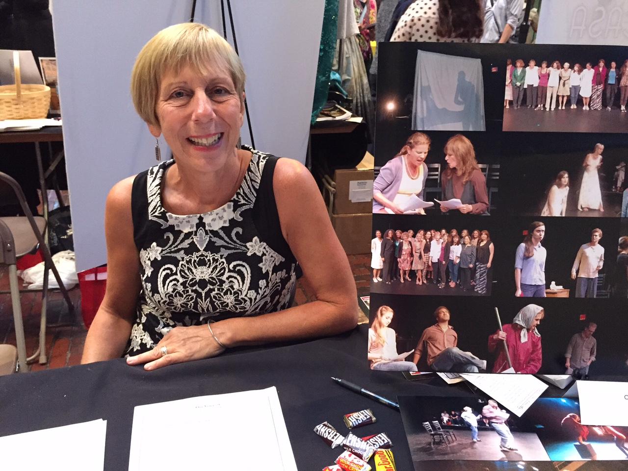 Kelly at THEATRE EXPO 2015 copy